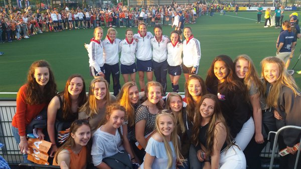 Ben Rhydding Girls ARE the GB Support!