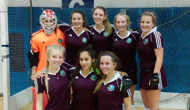Under 16 Girls – North Indoor Champions