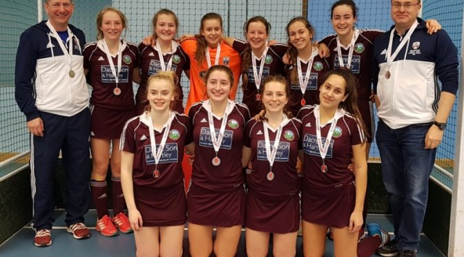 Under 18 Girls – Runners Up in National Indoor Finals