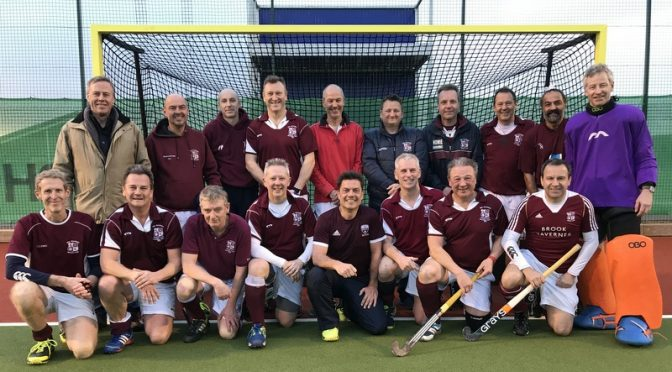 Mens Over 50s reach 4th Final in 5 years